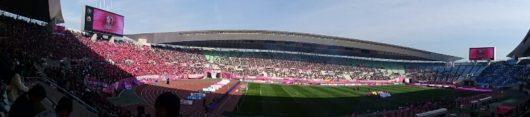 ジュビロ戦開始直前のスタジアム