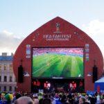2018FIFAワールドカップ サンクトペテルブルクのFAN FEST